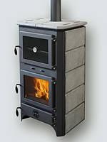 Отопительная печь на дровах с водяным контуром MBS Thermo Vulkan Plus