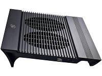 """Подставка для ноутбуков 17"""" Deepcool N8 Black, 2x14см вентилятора, HB"""