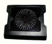 Подставка под ноутбук DL НТ-883; 345x320x36; 1xFan 200mm; пластмасса;