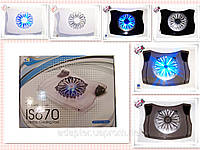 Подставка под ноутбук охлаждающая, 1fan,  TT2621; 10-17inch; 20см