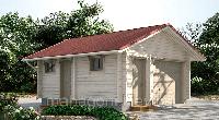 Строительство деревянных гаражей из бруса