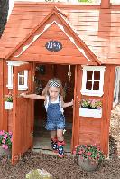 Строительство деревянных игровых домиков