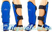 Защита для голени и стопы муай тай/ММА/кикбоксинг ZEL 4214: S/M/L/XL