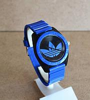Спортивные часы Adidas, Адидас синие с черным