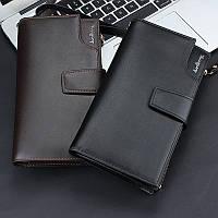 Кожаный портмоне-клатч ручной работы Baellerry Itali