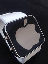 Спортивные часы Apple LED WATCH, Эпл Лед белые
