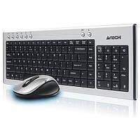 Комплект GX-6630 K/b + Mouse, USB; беспровод. до 15 м 2,4 ГГЦ, Сер-Чер