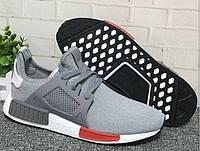 Кроссовки женские Adidas NMD XR1 grey-red, фото 1