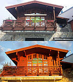 Шлифовка и покраска деревянного дома