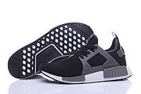Кроссовки женские Adidas NMD XR1 black-grey, фото 1