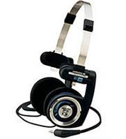 Headphones KOSS PortaPro; headband 15-25000 Гц; 1,2 м; plug 3,5/6,3 мм