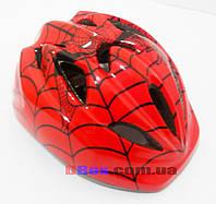 Вело Шлем детский Спайдермен (регулировка окружности)