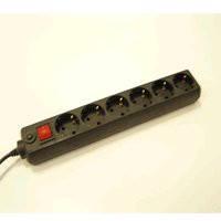 Сетевой фильтр Maxxtro PWS 06K-6F UPS; 1,8м; 10A; 2500W; 6 розеток