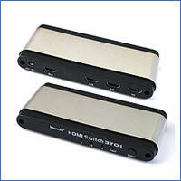 Переключатель HDMI Viewcon VE394, между 3 устройствами