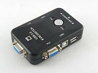 Переключатель KVM NR-201US, USB; 2 порта