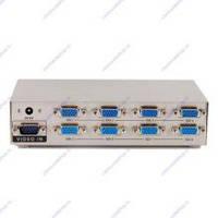 Соединитель GVS128 VGA Splitter 8 мониторов  200Mhz, 2048x1536