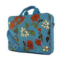 "Сумка для ноутбука G-Cube GNF-215SP2 ""Весна"" голубой, под 15.6"""