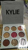 Тени Kylie Cosmetics Kyshadow The Burgundy Palette ( silver)