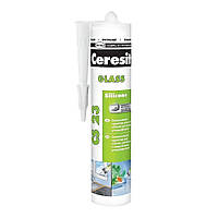 Герметик силиконовый для стекла Ceresit CS 23 (прозрачный), 280 мл