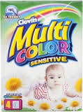 """Стиральный порошок детский """"Multi Color Sensitive"""" 400 гр., Clovin, Польша"""