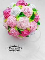 Букет-шар ручной работы для свадьбы или декора