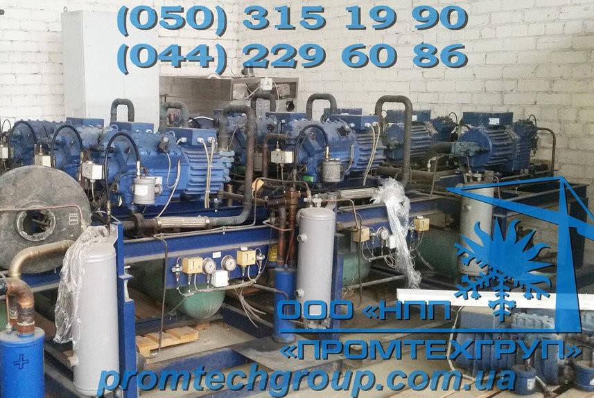 Холодильная установка Б/У Bock 3x HGX5/945-4 S (246,6 m3/h)