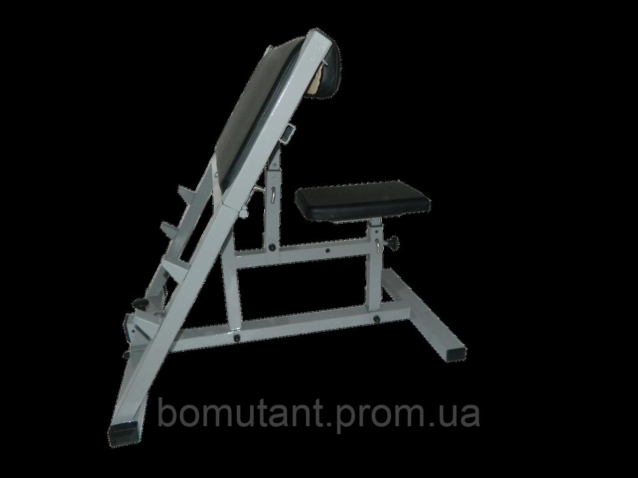 Скамья скотта BOMutant Plus  усиленный трансформер для профессионалов