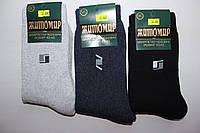 Мужские махровые носки Житомир, хлопок, 42-45 (ЕСТЬ ТОЛЬКО СВЕТЛО-СЕРЫЕ)