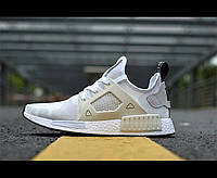 Кроссовки женские Adidas NMD XR1 Camo Pack white, фото 1