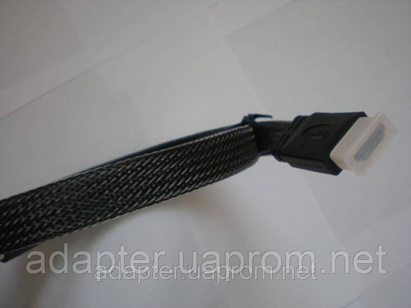 Кабель TT816.5 HDMI to HDMI 5м, v1.4, 3D, плоский, черный