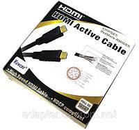 Кабель Viewcon VD568 -20м., HDMI - HDMI активный кабель с чипсетом, 25