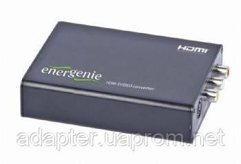 Конвертер Energenie DSC-HDMI-SVIDEO; вход:HDMI; выход:S-Video