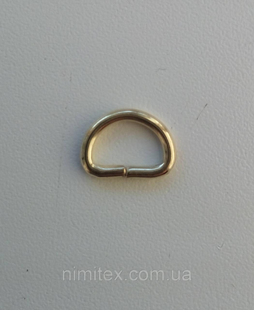 Полукольцо проволочное 10 мм золото