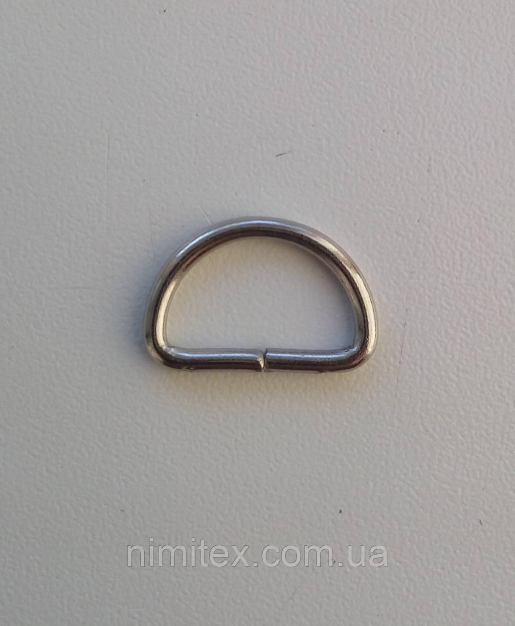 Півкільце дротове 15 мм нікель