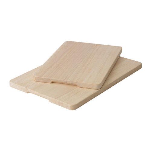 """IKEA """"МАГАЗИН"""" Набор разделочных досок,2 штуки, каучуковое дерево"""