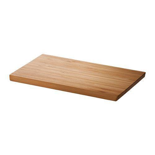 """ИКЕА """"АПТИТЛИГ"""" Доска разделочная, бамбук, 24*15см."""