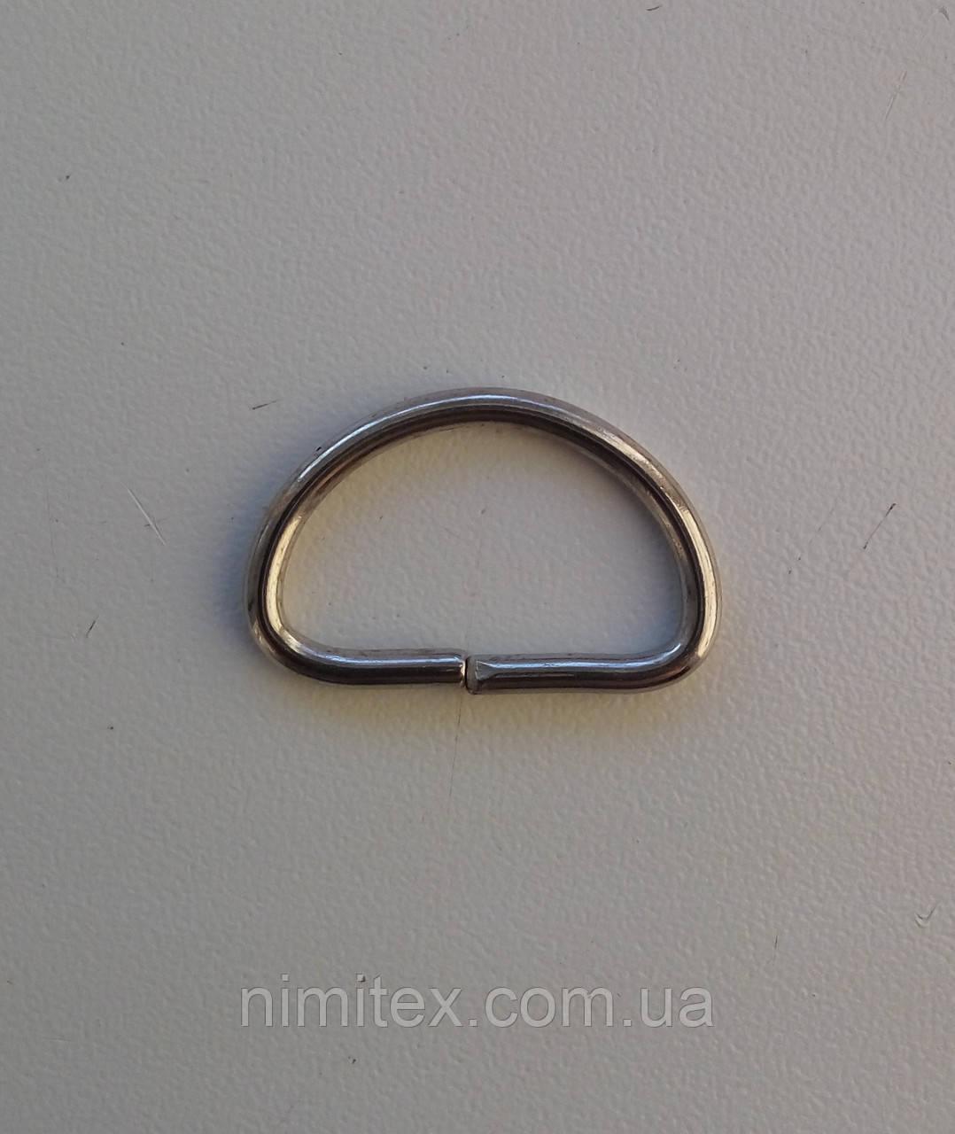 Полукольцо проволочное 21 мм никель
