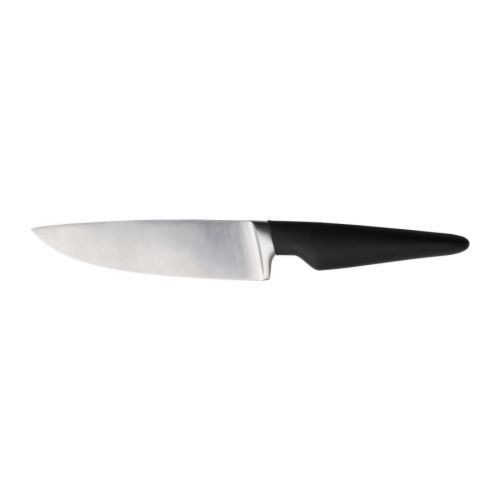 """ИКЕА """"ВЁРДА"""" Нож универсальный, черный, 14см."""