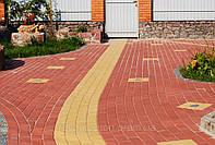 Тротуарная плитка. Бордюры. Укладка тротуарной плитки, озеленение.