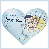 Печать на подушке сердце фотографий логотипов картинок
