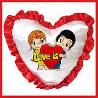 Печать на подушках сердце фотографий логотипов картинок на заказ