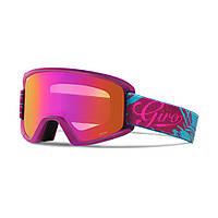 Горнолыжная маска Giro Dylan Flash, фиолетовая/аква Tropical, Amber Pink 37% + yellow 84% (GT)