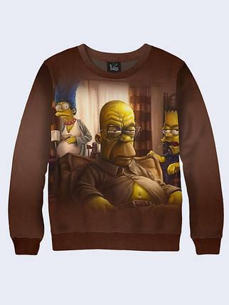 d278063cc5ba5 Женский свитшот Breaking Bad Simpsons: продажа, цена в Киеве ...