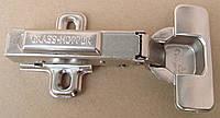 Петля Grass Hopper с заглушками накладная быстрого монтажа с доводчиком