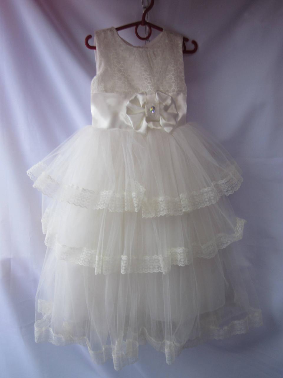 Платье детское пышное бальное