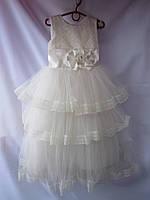 Платье детское пышное бальное, фото 1