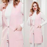 Женская классическая жилетка, 2 цвета