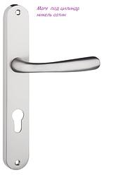 Дверная ручка Mars  никель сатин