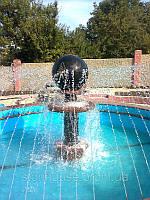 Гранитные шары для фонтана
