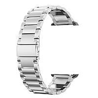Браслет для часов из нержавеющей стали, литой, матовый. Samsung Gear S3 Classic Frontier. 22-й размер.
